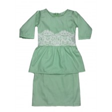 Iris Peplum Mint Green BP10