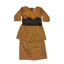 Iris Peplum Brown BP13