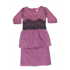 Iris Peplum Dusty Violet BP14